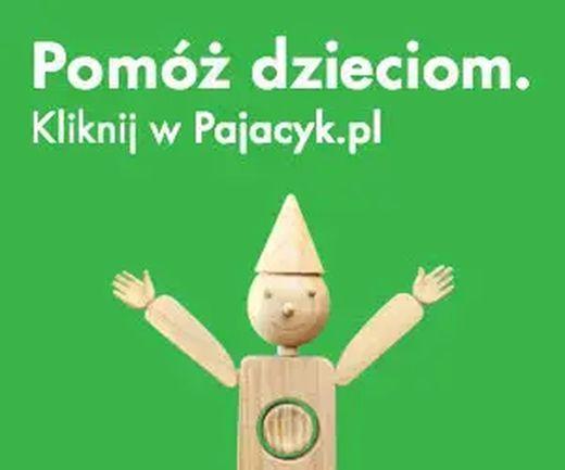 pajacyk.pl - zrób cośdobrego dla dzieciaków